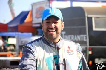 """Fontoura: """"Que ano! Estamos muito felizes com nossas conquistas..."""" (Leo Magalhães/Tulipa Rally)"""