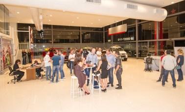 O festa de premiação reuniu pilotos, navegadores, organizadores e imprensa (Doni Castilho/DFotos)