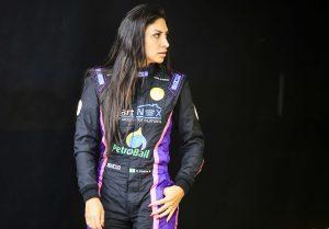 Helena Soares fez sua estreia nas pistas em 2017 na Sprint Race Brasil (Luciano Santos/Sigcom)