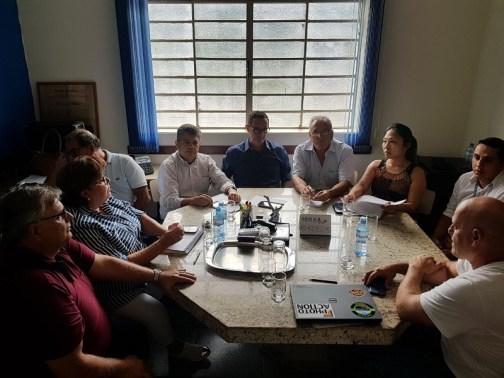 Reunião na Prefeitura de Araçatuba realizada no dia 19/02 firmou a parceria (Divulgação)