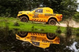 A dupla Marcos Baumgart e Kleber Cincea é a campeã do Rally Minas Brasil (Cadu Rolim/DFOTOS)