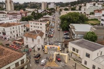 A cidade de São Bento do Sul sediou a primeira etapa da Copa SC Racing (Rodrigo Phillips)