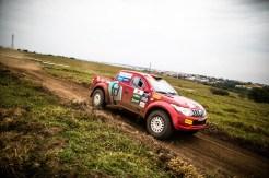 Muita velocidade e adrenalina. Foto: Tom Papp / Mitsubishi