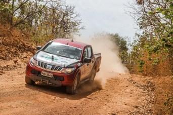 L200 Triton Sport é o carro oficial do Rally dos Sertões. Foto: Sanderson Pereira / Mitsubishi
