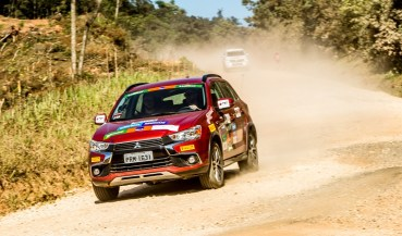 Mitsubishi Motorsports explora trilhas e estradas da região. Foto: Ricardo Leizer / Mitsubishi