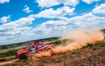 Competidores vão encarar uma etapa desafiadora. Foto: Marcio Machado/Mitsubishi