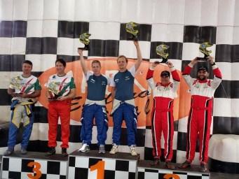 Facco/Herrero conquistaram o 2o lugar no pódio do Rally de Inverno (Foto: Divulgação)