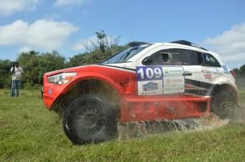 Será o primeiro Sertões da dupla a bordo do Mitsubishi ASX Racing (Foto: JJ Lopez/Puromotorpy)