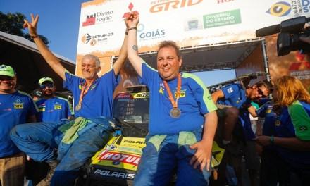 Leandro Torres, campeão do Dakar, promove campanha para ações sociais do Rally dos Sertões