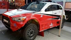 Pela primeira vez, a dupla disputará a prova com Mitsubishi ASX R (Foto: divulgação)