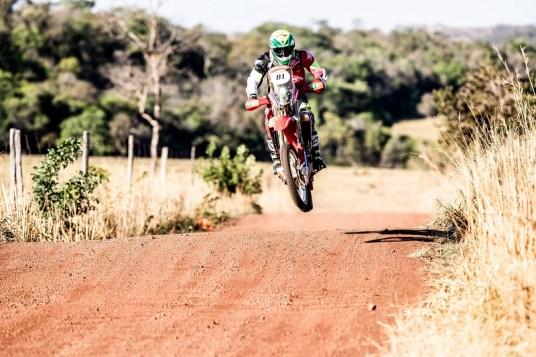 Jean Azevedo aparece em terceiro na classificação geral do Sertões (Ricardo Leizer/Fotop/Vipcomm)
