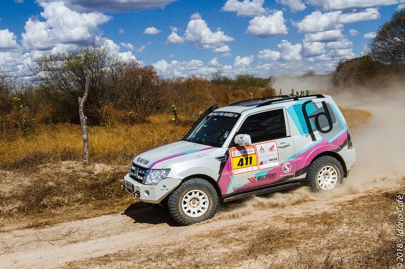 Rally dos Sertões/Regularidade: Sandra Dias/Igor Carvalho decidem o título nesta etapa final