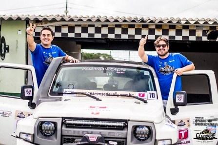 Rubens e Alisson (Crédito Divulgação Cearense de Rally)