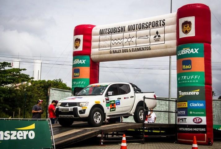 Etapa em Salvador (BA) empolgou os participantes (Foto: Adriano Carrapato/Mitsubishi)
