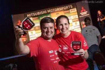 Gustavo Amorim e Débora Bonati (Crédito Ricardo Leizer-Fotovelocidade-Mitsubishi)