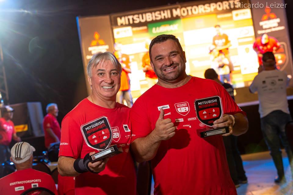 Paulo Goes e Vanderlei Hirt (Crédito Ricardo Leizer-Fotovelocidade-Mitsubishi)
