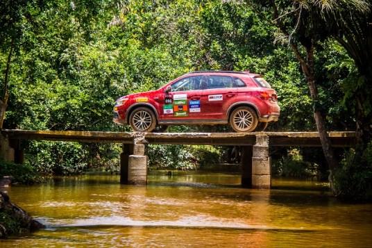 ASX pode participar dos eventos off-road (Foto: Adriano Carrapato/Mitsubishi)