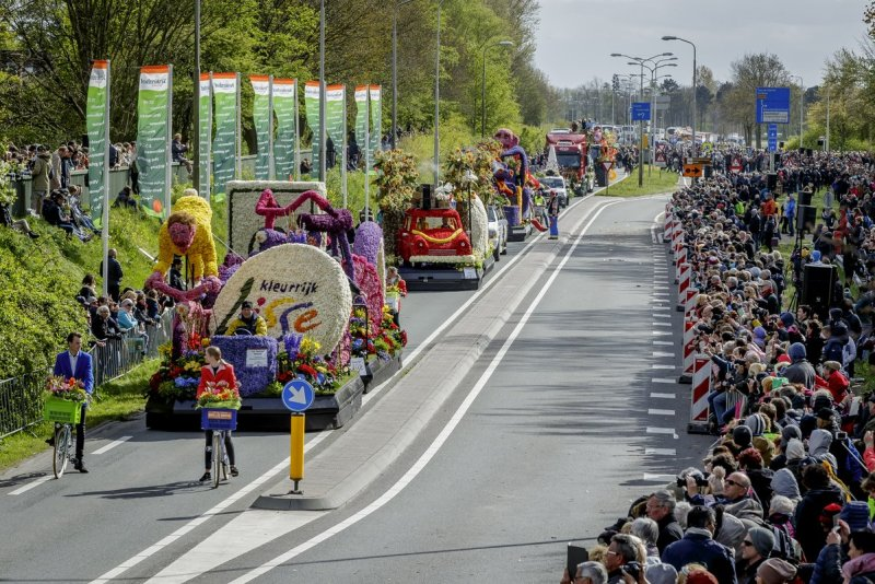 Flowertown Festival 2020.Dutch Flower Parade 2020 Tulip Festival Amsterdam