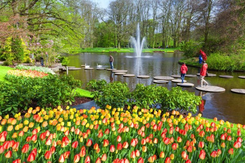 Keukenhof Gardens Amsterdam Holland