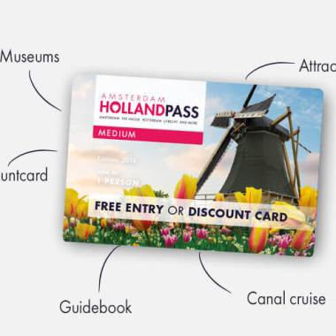 Amsterdam Holland Discount Pass