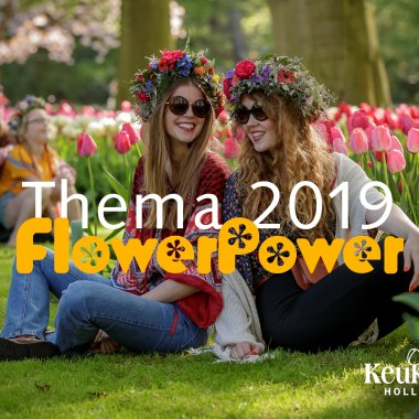 Keukenhof theme 2019 Flower Power