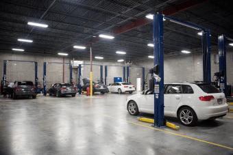 Shop Area at Audi Shawnee Mission in Lenexa Kansas