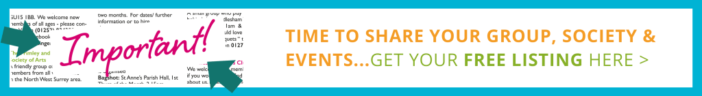 TIME TO SHARE YOUR GROUP, SOCIETY & EVENTS...GET YOUR FREE LISTING HERE >