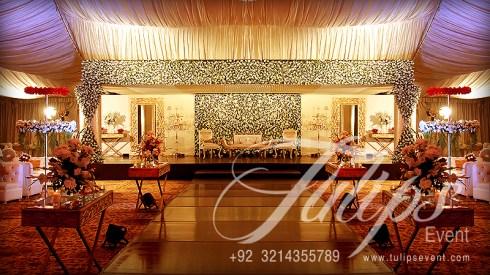 Best Themed Wedding Reception Stage Decoration Baraat