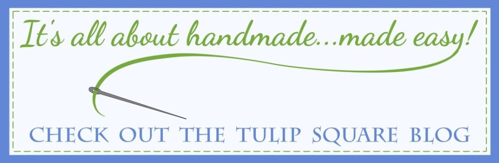 Check out the Tulip Square handmade quilt blog