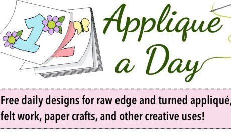 Appliqué a Day free daily designs for appliqué and crafts
