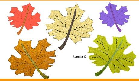 Classic Autumn Leaf Free Appliqué Pattern