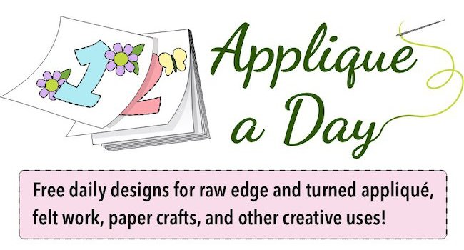 free applique patterns daily
