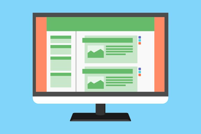 tips memilih template blog