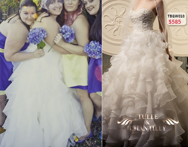 Custom Make Your Own Plus Size Wedding Dresses At Tulle