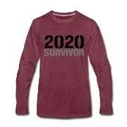 2020 Survivor - Långärmad premium-T-shirt herr