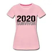 2020 Survivor - Premium-T-shirt dam
