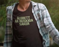 Älgbett är ruskiga saker - Skogens bitska konung...