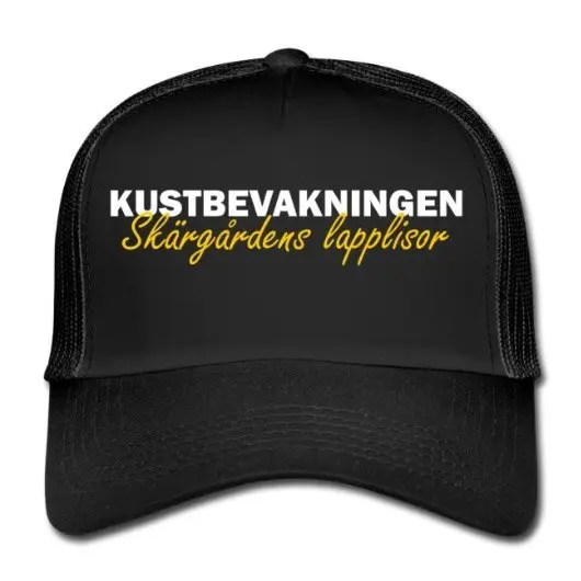 Kustbevakningen - Skärgårdens Lapplisor - Keps - Trucker Cap