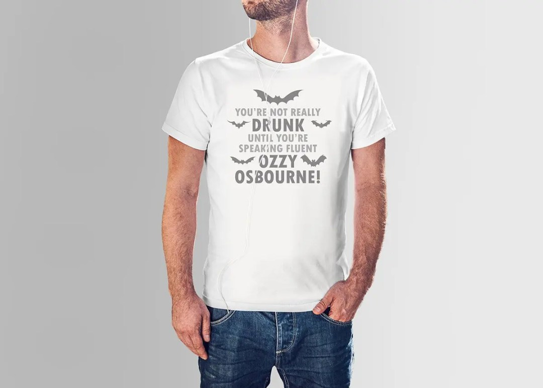 You're not really drunk until you're speaking fluent Ozzy Osbourne