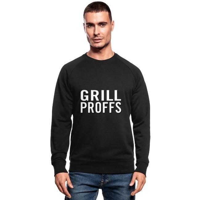 GRILLPROFFS - Kläder för riktiga proffsgrillare - Ekologisk sweatshirt herr