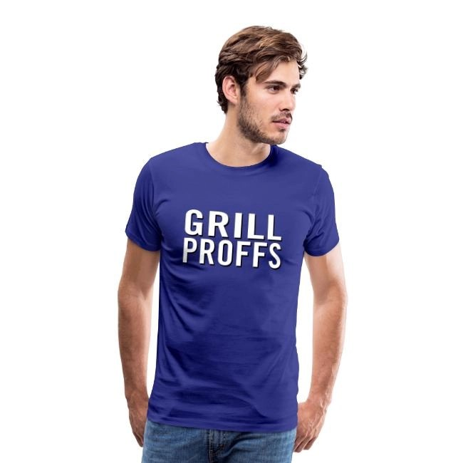 GRILLPROFFS - Kläder för riktiga proffsgrillare - Premium T-shirt herr