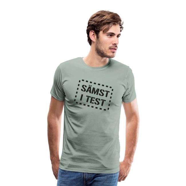 Sämst i test - Premium-T shirt herr