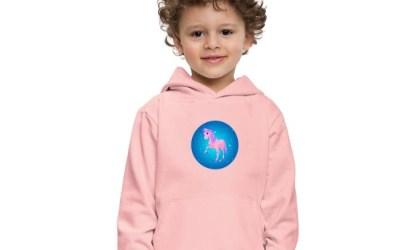 Enhörning – söt tröja för barn