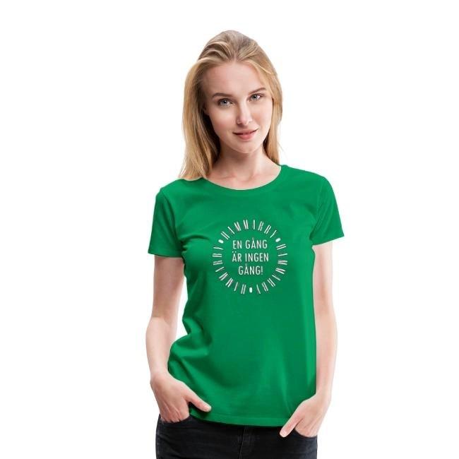 Hammarby - En gång är ingen gång - Premium T-shirt dam