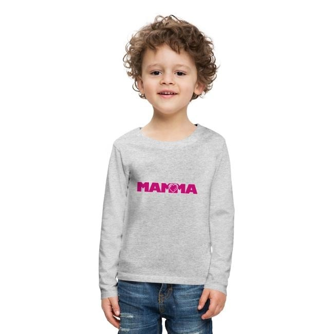 MAMMA - Långärmad premium T-shirt barn