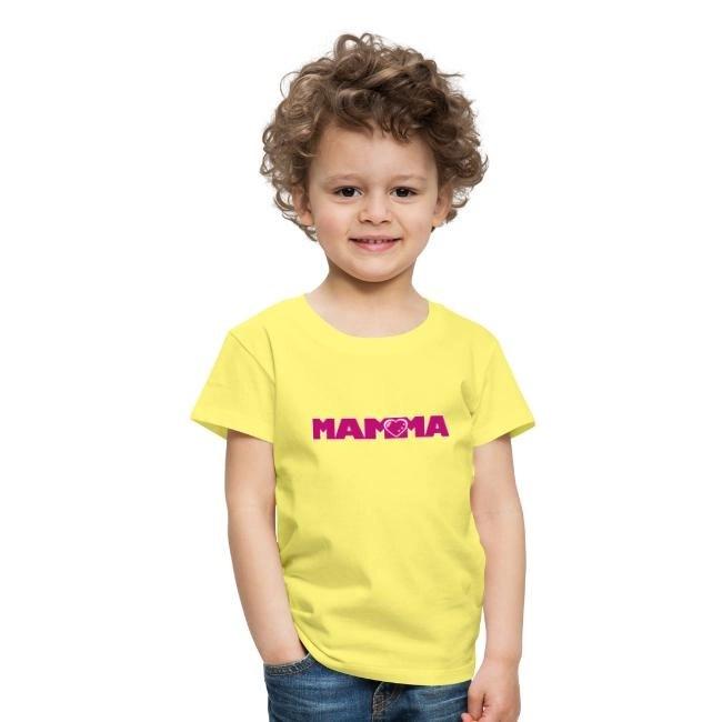 MAMMA - Premium-T-shirt barn