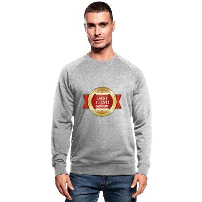 Bäst i test - Garanterat - Ekologisk sweatshirt herr