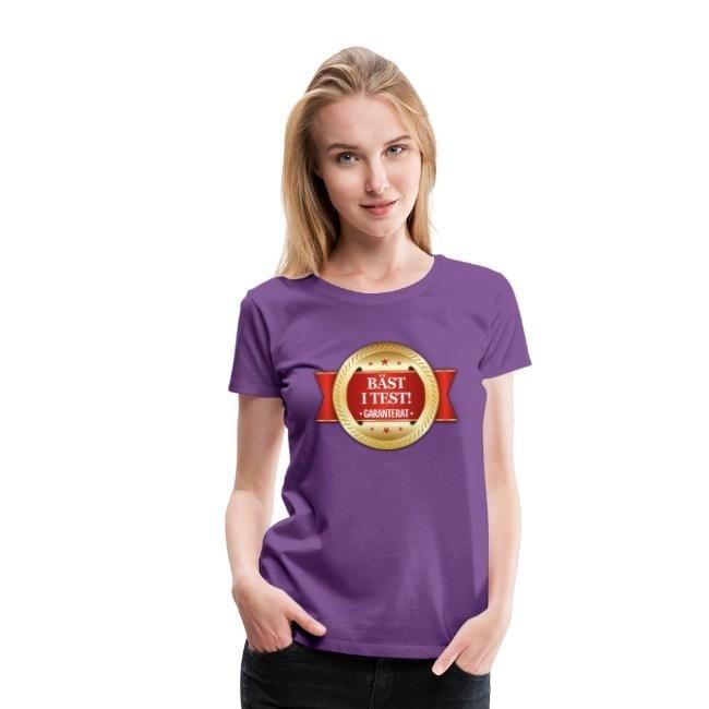 Bäst i test - Garanterat - Premium T-shirt dam