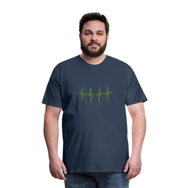EKG - Premium T-shirt herr