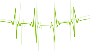 Motiv: EKG-kurva (Elektrokardiografi)